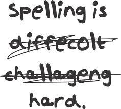 Child's spelling
