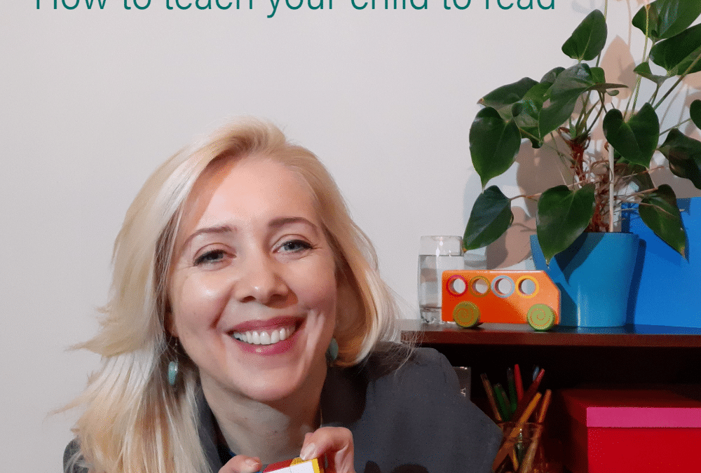Early Learning: How to teach your child to read