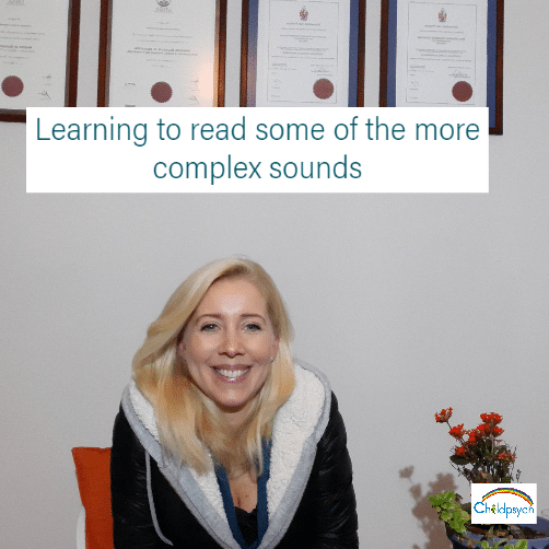 Here's how to introduce complex sounds when children are first learning to read